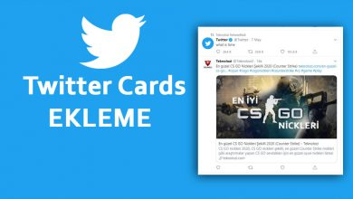 Photo of Siteye Twitter Kartları Ekleme Wordpress Twitter Cards